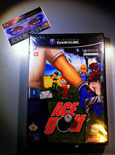 ACE GOLF NUOVO SIGILLATO NEW FACTORY SEALED NINTENDO GAMECUBE RARE GC WII