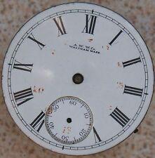Am. Watch Co Hillside vintage Pocket watch movement & dial 42 mm balance broken