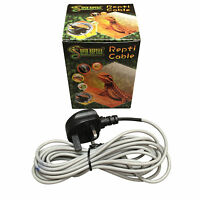 Reptile Heat Cable for Vivarium 3m, 3.5m, 6m, 9m or 12m Models Available