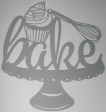 Bake Cake Making Kitchen Wall Art Sticker