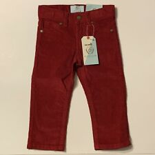 Class Club Dillard's Girls  Pants size 2T Dark Red Corduroy  NEW with tags