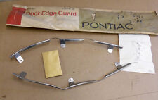 NOS PONTIAC 1967 1968 GRAND PRIX BONNEVILLE CATALINA DOOR GUARD ACCESSORY KIT