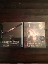 Captain America Civil War (3D+2D) Blu-ray Steelbook Novamedia Lenti #254/700
