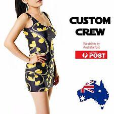 Batman Logo Funny Gamer Simple Mini Dress Bodycon Sexy One-Size Dress Coverlads