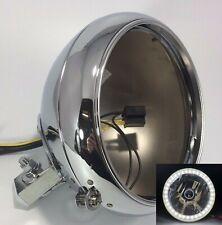 HardDrive Passing Lamp Bracket For Harley FLST 1986-2001 Chrome 24-103CP