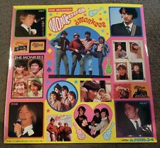 The MONKEES Japan 1981 STICKERS~vintage Photos, Large unpeeled sheet