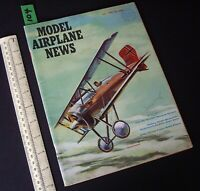 1960 July Vintage Model Airplane News USA Aeromodelling Hobby Magazine   (104)