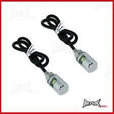 Chrome 12v LED number plate light bolts Fits Holden FE FC FB EK EJ EH HD HR