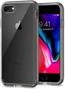 Spigen Neo Hybrid Crystal 2 for Apple iPhone SE 2020 / 8 / 7 Gunmetal 054CS22363