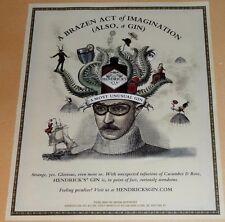 HENDRICK'S GIN CRAZY ADVERTISEMENT- A BRAZEN ACT OF IMAGINATION