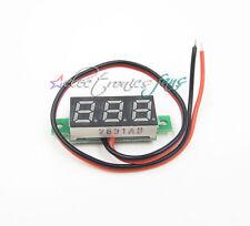 """0.28"""" DC Digital Voltmeter Panel Mount LED Voltage Volt meter blue blau 2.50~30V"""