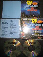 2 CD MAXI HIT Sensation Silicon Dream Blue System c.c Catch Bad Boys Blue Sandra