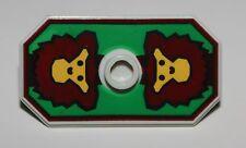 LeGo 2x Castle Rascus Minifig Shield w/ Monkey Pattern