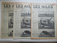 AILES 1936 778 BREGUET 460 MS-350 RAILWAYS AIR SERVICE CLEM SOHN POU TRAIN ITALY