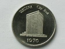 Regina Saskatchewan Canada 1886-1908-1963-1976 Town/City Hall Building Medallion