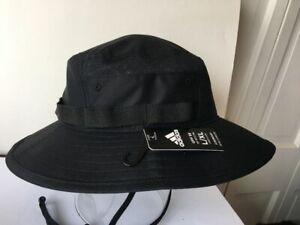NWT $32 Adidas Men's Victory III Bucket Hat Black Size L/XL