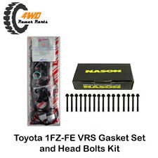 Toyota Landcruiser 1FZ-FE Engine VRS Gasket Set and Head Bolts Kit Made in Japan