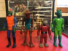 Greedo, Snaggletooth, Hammerhead, Walrus Man Vintage Star Wars Figures