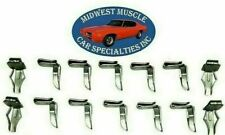 NOSR Chrysler Dodge Plymouth Door Quarter Panel Retainer Bushing Clips 14pc PD