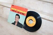 Ep Elvis Presley 2 titres. hound dog & don't be cruel (france-1971)