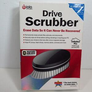 iolo Drive Scrubber- MILITARY GRADE- Remove Sensitive Data Unlimited PCs