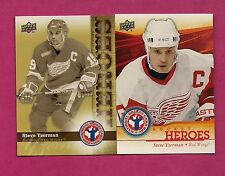 2 X  NATIONAL HOCKEY CARD DAY RED WINGS STEVE YZERMAN MINT (INV# A3276)