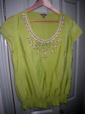 Katies Viscose Short Sleeve Solid Tops & Blouses for Women