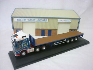 Oxford Diecast/Modern 1:76th Truck Volvo FH4 Flatbed P. McKerral 76VOL4005