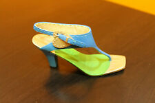 "Raine Just The Right Shoe ""Summer Love"" miniature shoe item # 25451 with Coa"