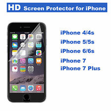 HD Ultra Clear Screen Protector PET Film For Apple iPhone 7,7 Plus 6/6s, 6plus 5