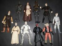 Lot of 10 - 1990s LFL Star Wars Action Figures NO DUPLICATES RARE SET CLEAN🔥💥