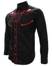 Cowboy Shirt El Señor de los Cielos Embroidered Camisa Vaquera Bordada