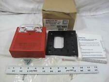1 New Wheelock Inc Ada Compliant Audio Visual Fire Alarm As 241575w Fr