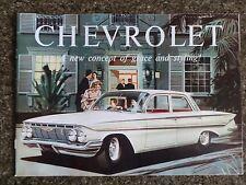1961 CHEVROLET SALES  BROCHURE RHD  ''AUSTRALIAN VERSION''