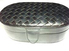 Bottega Veneta Small Black Leather Jewelry box