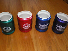 Longaberger Homestead Drink Cozies Holders Set Of 4 Red Blue Green Purple