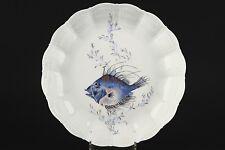 A. GIRAUD LIMOGES France, decoro pesce, minestre piatto no2