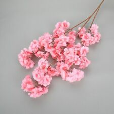 Artificial cherry blossom tree Flowers 120cm branch Wedding home office Decor