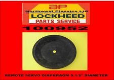 100952 NEW LOCKHEED REMOTE SERVO DIAPHRAGM  5.5""
