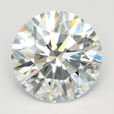 0.52 Ct Round Cut Lab Grown Loose Diamonds VS1 Clarity E Color For Jewelry