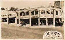 Perrys Torquay Garage Shop  Motor Car Advertising unused RP old pc Remingtons