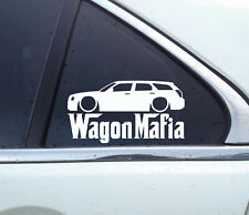 Lowered WAGON MAFIA sticker - for Chrysler 300c Touring station wagon