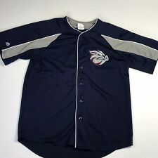 Lehigh Valley IronPigs Majestic Stitched Jersey Philadelphia Phillies Men's Larg