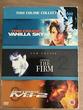 Tom Cruise VANILLA SKY / THE FIRM / MI:2 Mission Impossible ~ Collection UK DVD