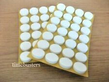 20 White Self Adhesive Sticky CD/DVD/Blu Ray Disc Foam Holders/Dots/Studs/Pads
