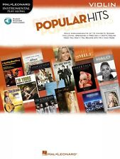 Popular Hits Instrumental Play-Along for Violin Book and Audio NEW 000842518