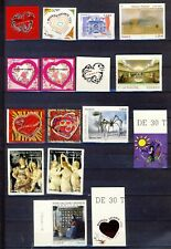 LOT 16 TIMBRES AUTOADHESIFS NEUFS**           2 SCAN