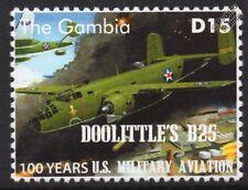 Doolittle Raid B-25 MITCHELL Ruptured Duck US Militiary Aviation Aircraft Stamp