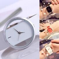 Fashion Women Ladies Leather Watch Rhinestone Analog Quartz Wrist Watches CHY