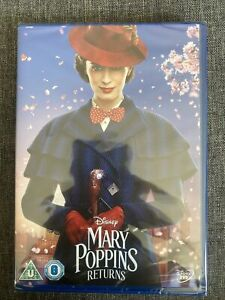 Mary Poppins Returns NEW SEALED DVD